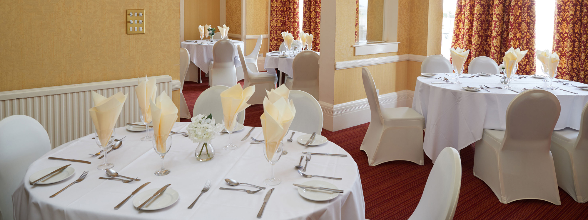 Palm Court Hotel - Great Yarmouth: Functions Header